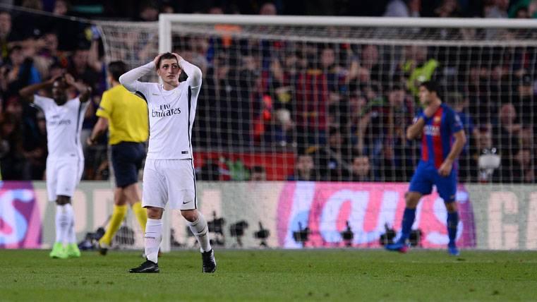 BOMBA: Contactos Barça-Verratti para la próxima temporada