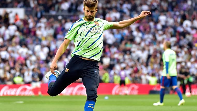 El FC Barcelona explica la enigmática baja de Gerard Piqué