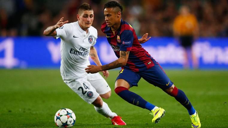 El fichaje de Verratti, firme apuesta del vestuario del Barça