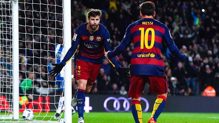 El Espanyol de Quique tratará de atar en corto a Gerard Piqué