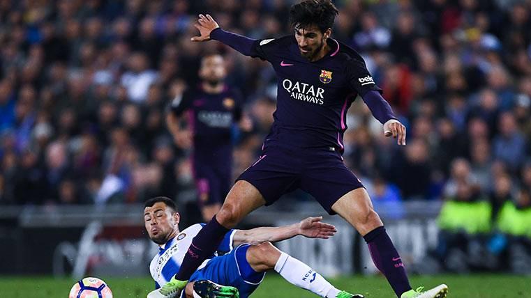 Segundo buen partido de André Gomes con el FC Barcelona
