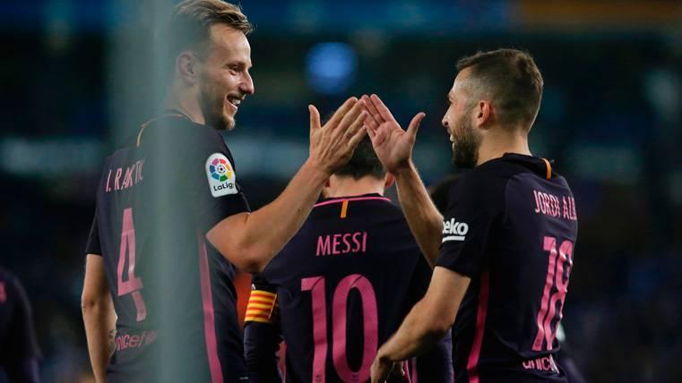Jordi Alba se pronunció sobre su futuro tras el Espanyol-Barça