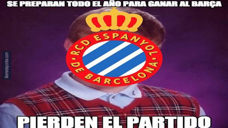 """El """"meme"""" que retrata la frustrante realidad del Espanyol"""