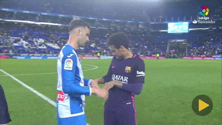 Neymar y Baptistao dejaron un saludo para la historia