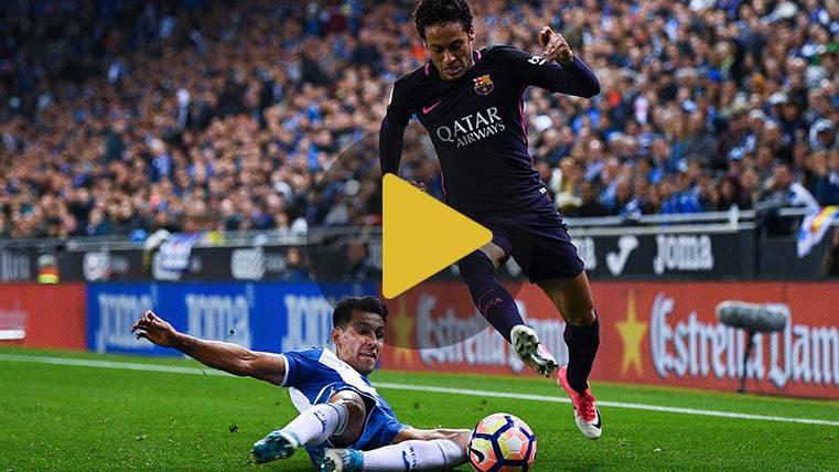 Neymar volvió a divertirse con Leo Messi y Luis Suárez