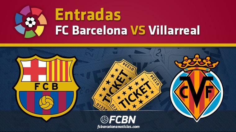Entradas FC Barcelona vs Villarreal