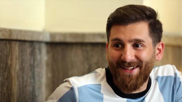 El doble de Messi conocerá finalmente el Camp Nou