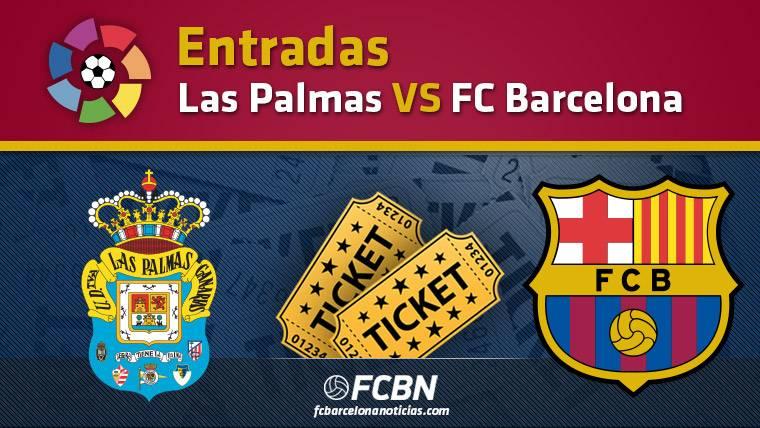 Entradas Las Palmas vs FC Barcelona