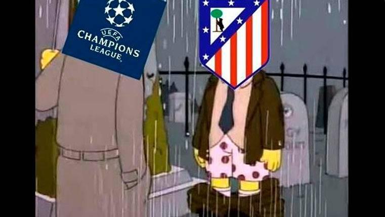 El meme que retrata otro ridículo del Atleti ante el Madrid