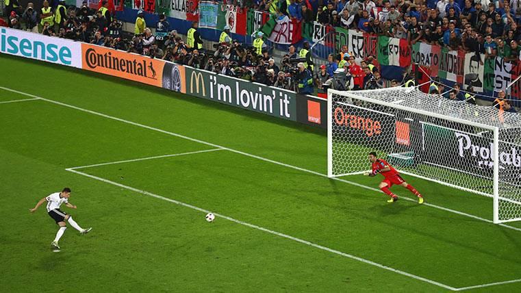 """La UEFA probará con el """"tie break"""" en los penaltis"""