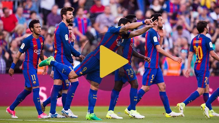Vídeo resumen: Barcelona 4 Villarreal 1 (LaLiga J36)