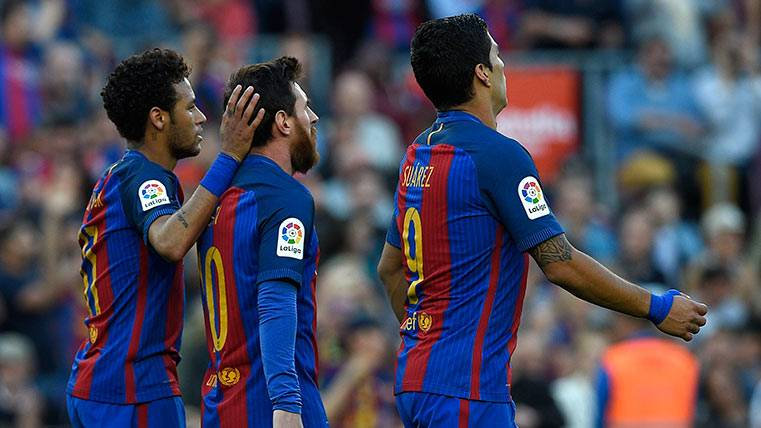 La MSN del FC Barcelona vuelve a pasar de los 100 goles