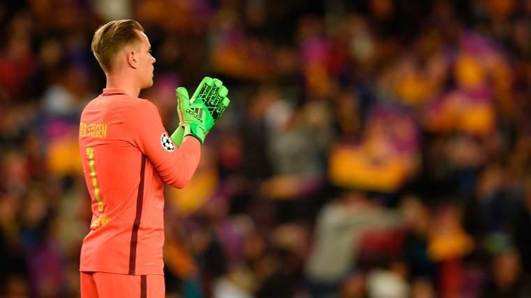 El dato de Ter Stegen que demuestra el ADN del Barça