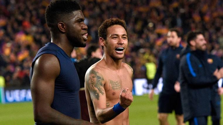 Samuel Umtiti, orgulloso del Barça y alucinado con Neymar