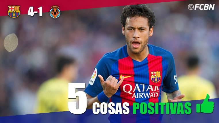 MAGIA: Las cinco cosas positivas del FC Barcelona-Villarreal