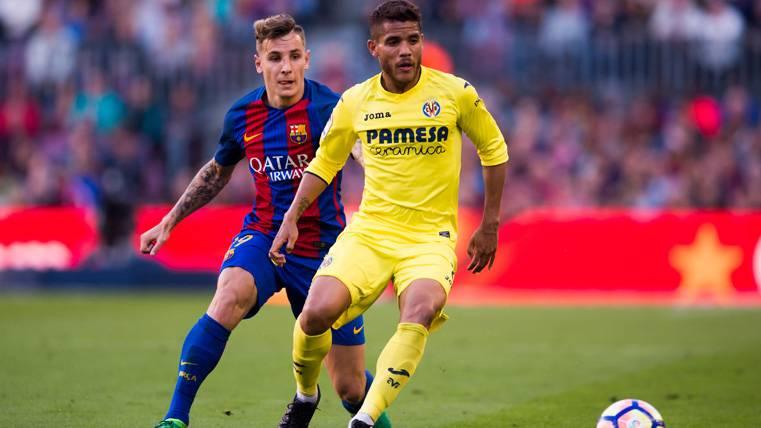 OFICIAL: El FC Barcelona confirma la lesión de Lucas Digne