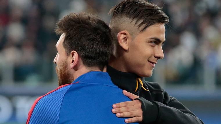 "Dani Alves: ""Vi algo en Dybala que antes había visto en Messi"""
