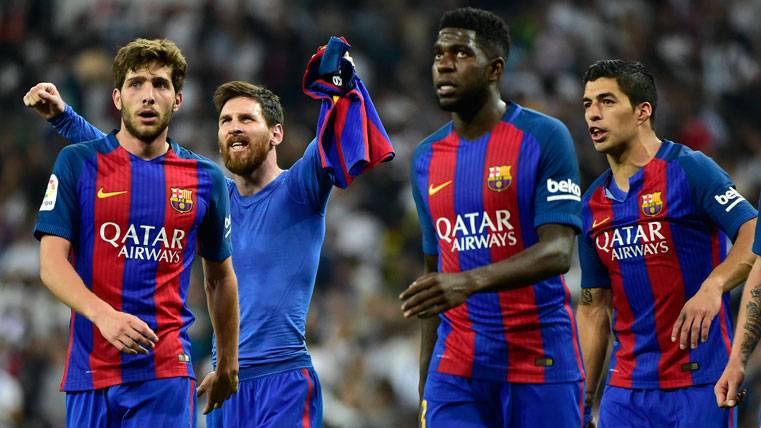 """Ovación en el Camp Nou para el """"todo-terreno"""" Sergi Roberto"""