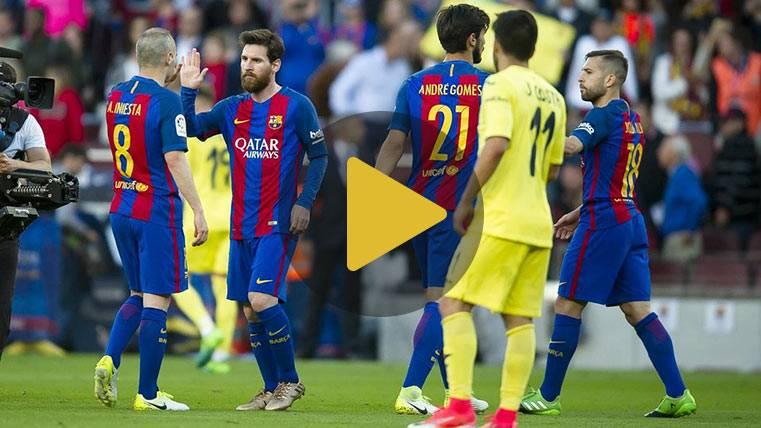 Así se vivió dentro la exhibición de Messi ante el Villarreal