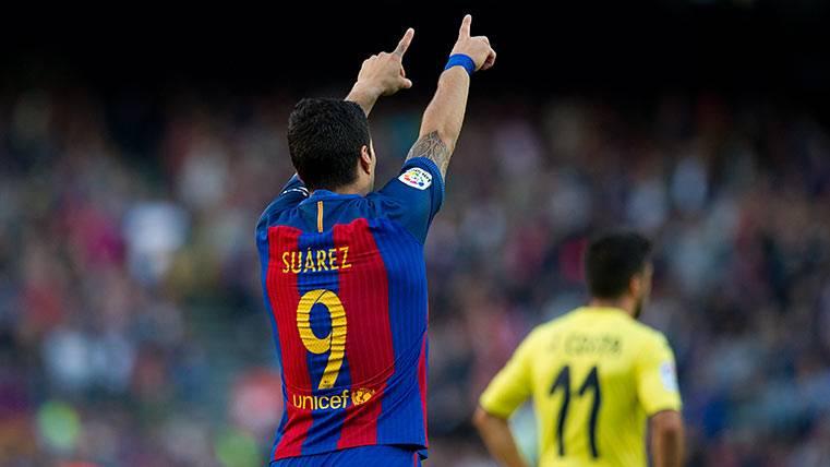 Luis Suárez, camino de superar a Samuel Eto'o en goles