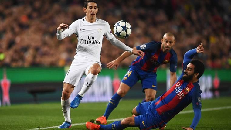 BOMBAZO: Ángel Di María sondea fichar por el FC Barcelona