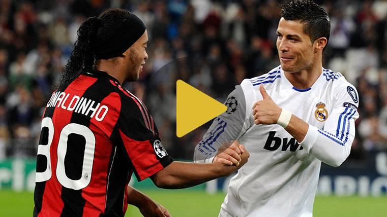"""¿Un partido entre 11 """"Cristianos Ronaldos"""" y 11 """"Ronaldinhos""""?"""