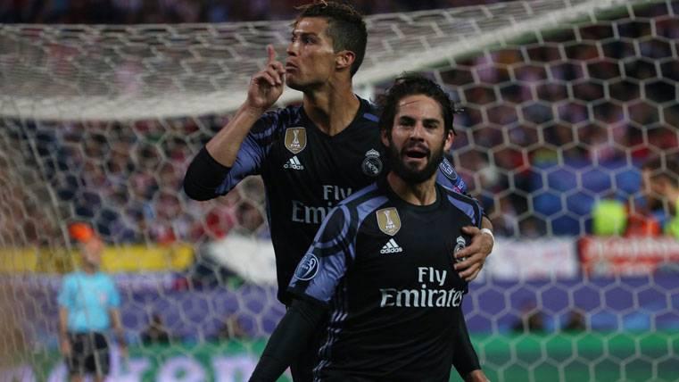 ¡Cristiano mandó callar al Calderón tras el gol de Isco!