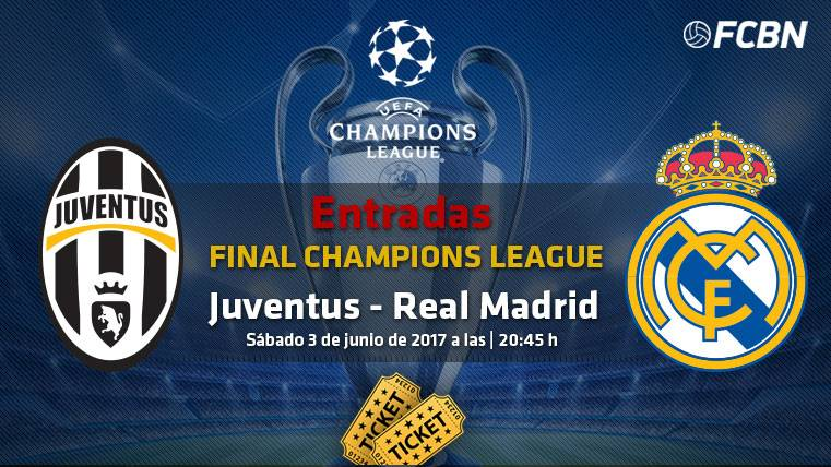 entradas final champions league   juventus vs real madrid