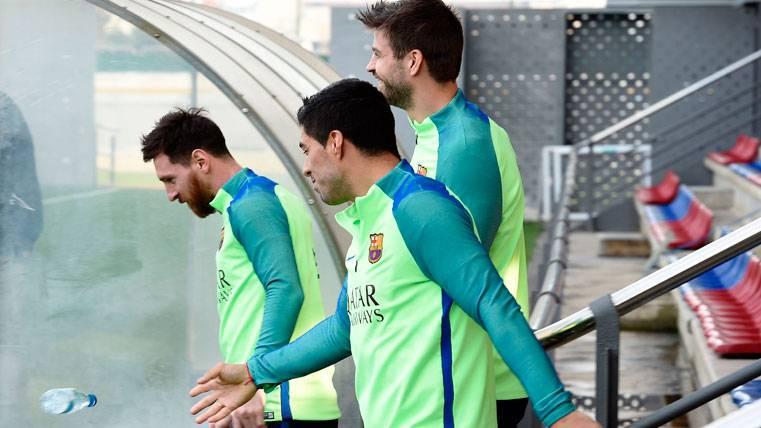 ¡Gerard Piqué, baja inesperada en el entreno del Barça!