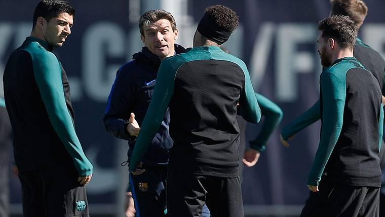 La amenaza de Neymar si Unzué es el nuevo entrenador
