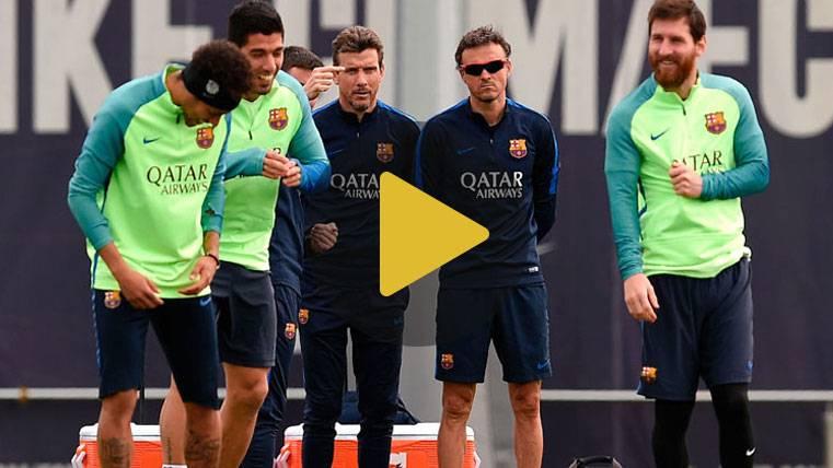 Piqué sigue sin entrenar y peligra para el Las Palmas-Barça