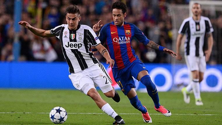 Neymar, Dybala y Griezmann, ¿herederos de Messi y CR7?