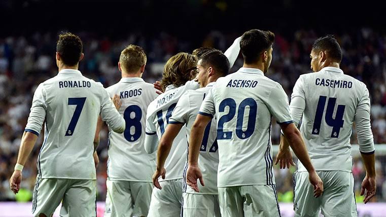 El Real Madrid pasó por encima de un inocente Sevilla