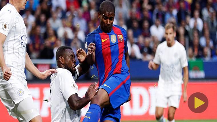 """Marlon, feliz: """"Es un privilegio renovar por el Barça"""""""