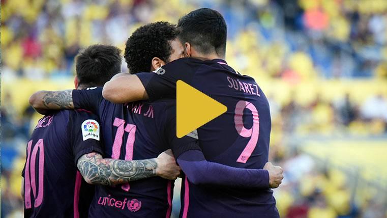 Vídeo resumen: Las Palmas 1 Barcelona 4 (LaLiga J37)