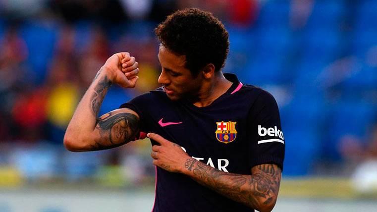 La razón de la celebración de los goles de Neymar Júnior