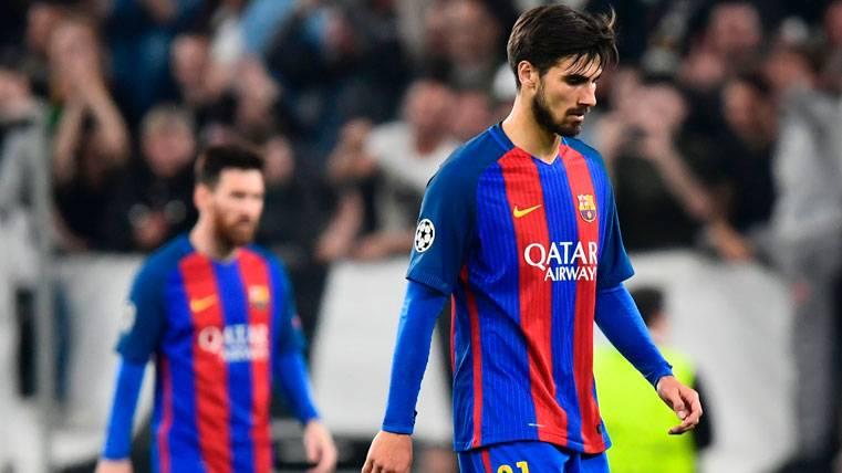 Polivalencia insignificante de André Gomes con el Barça