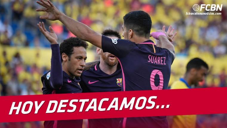 """La """"MSN"""", el salvavidas goleador del Barcelona en LaLiga"""