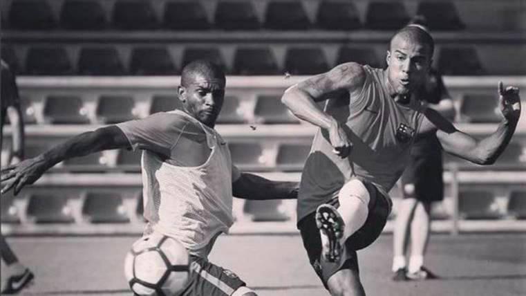 Marlon Santos cuenta con un admirador en el FC Barcelona