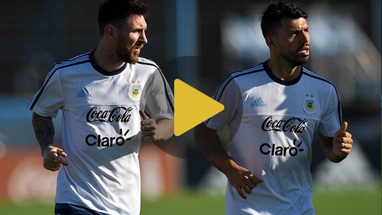 La cómica anécdota de cómo se conocieron Agüero y Messi