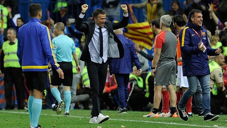 El homenaje del Barça a Luis Enrique, totalmente merecido