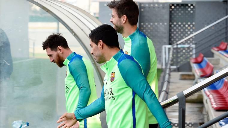 OPTIMISMO: Gerard Piqué mejora y apunta al Barcelona-Eibar