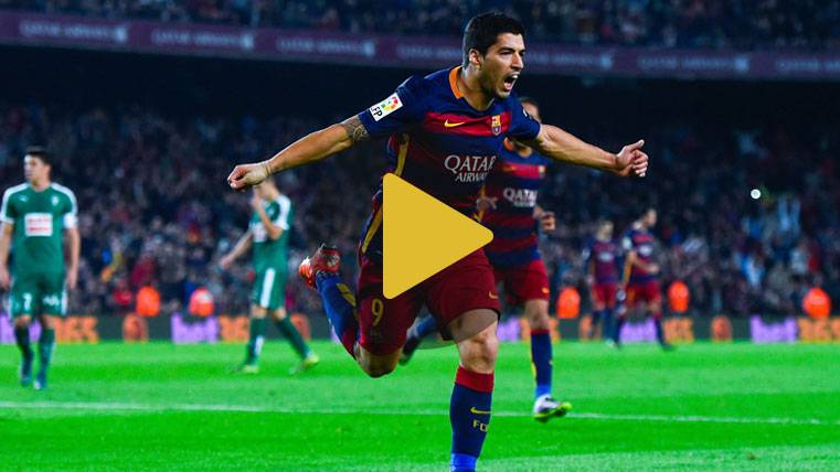 Luis Suárez ya sabe vapulear al Eibar en el Camp Nou
