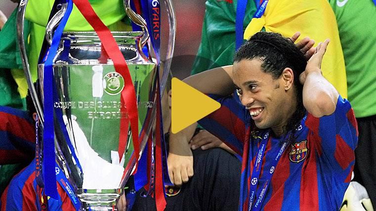 Los 10 mejores momentos de Ronaldinho en el Camp Nou