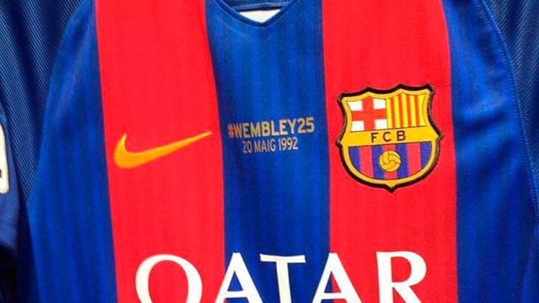 El Barça ya tiene camiseta conmemorativa de Wembley 92