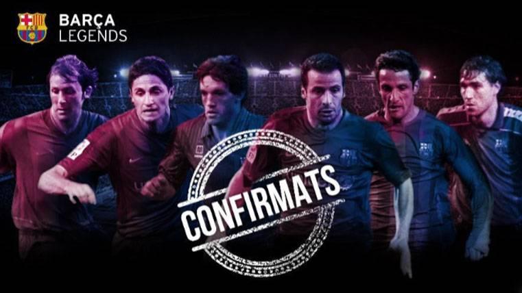 Desvelada la lista completa para los Barça Legends de junio