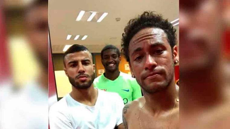 Rafinha, Neymar y Marlon, el nuevo clan brasileño del Barça
