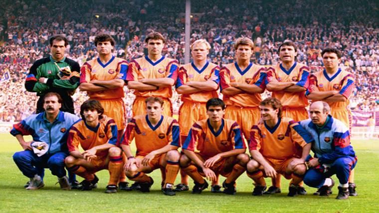 Los integrantes de Wembley 92