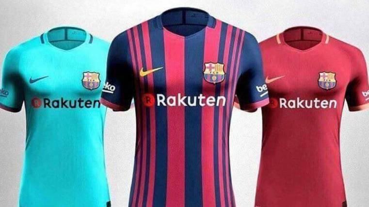 Así vestirá el FC Barcelona el año que viene