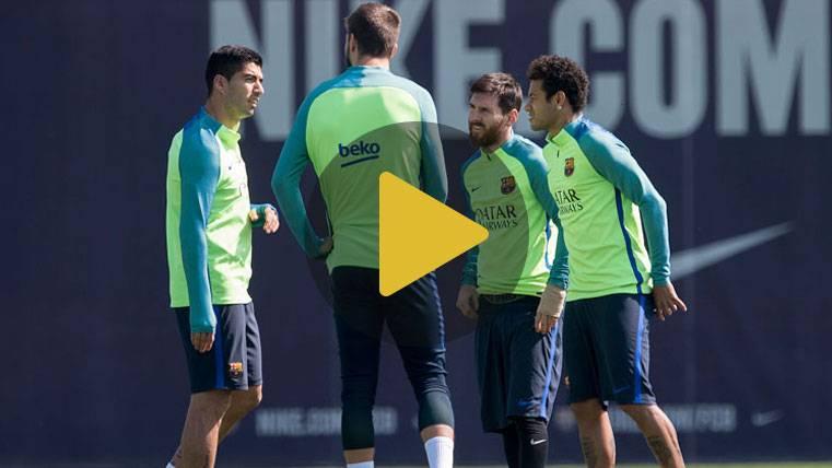 El FC Barcelona enfoca al Eibar con Marlon y Piqué listos